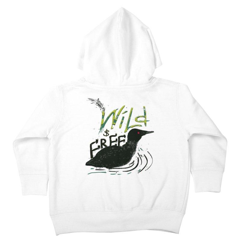 Wild $ Free Kids Toddler Zip-Up Hoody by JP$ Artist Shop