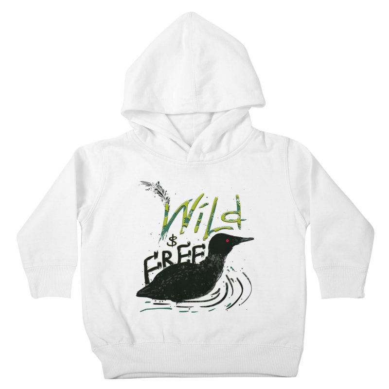 Wild $ Free Kids Toddler Pullover Hoody by JP$ Artist Shop