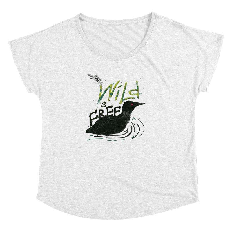 Wild $ Free Women's Dolman by JP$ Artist Shop