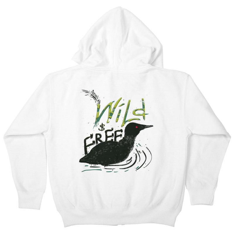 Wild $ Free Kids Zip-Up Hoody by JP$ Artist Shop