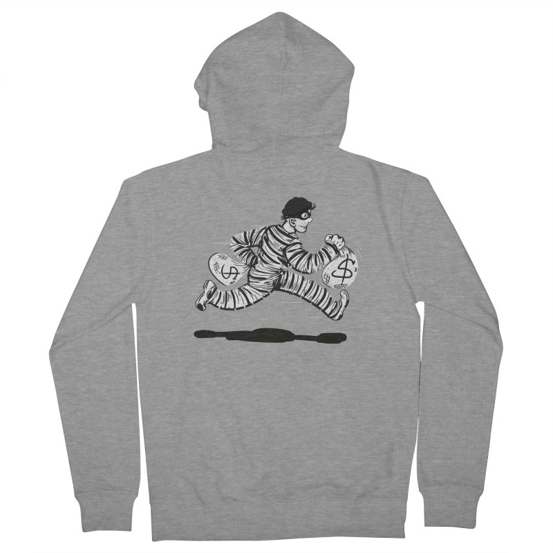 Take the $$$$$$$$$$$$$$ and run Men's Zip-Up Hoody by JP$ Artist Shop