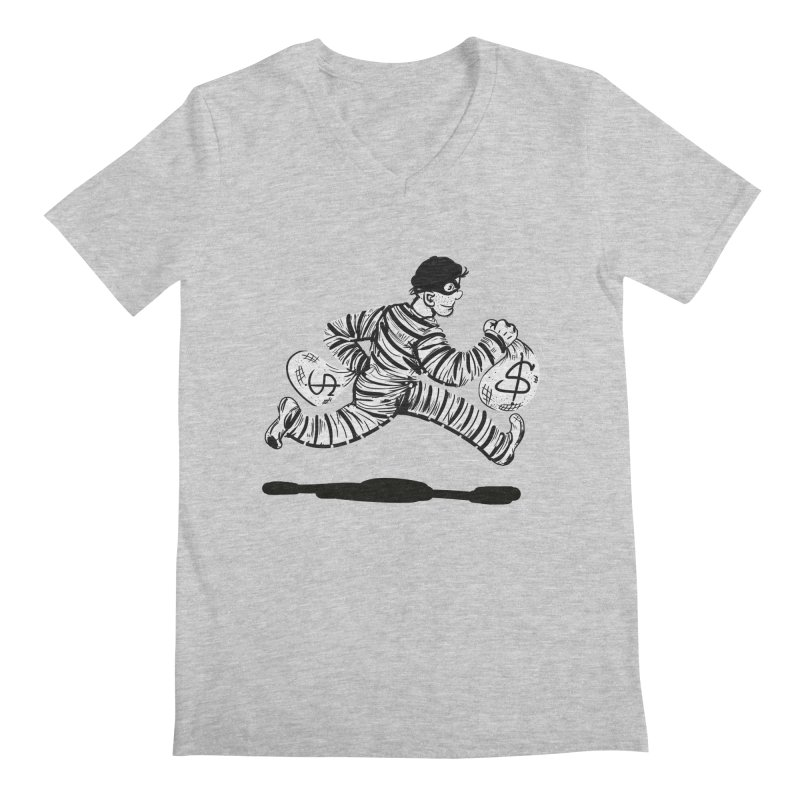 Take the $$$$$$$$$$$$$$ and run Men's V-Neck by JP$ Artist Shop