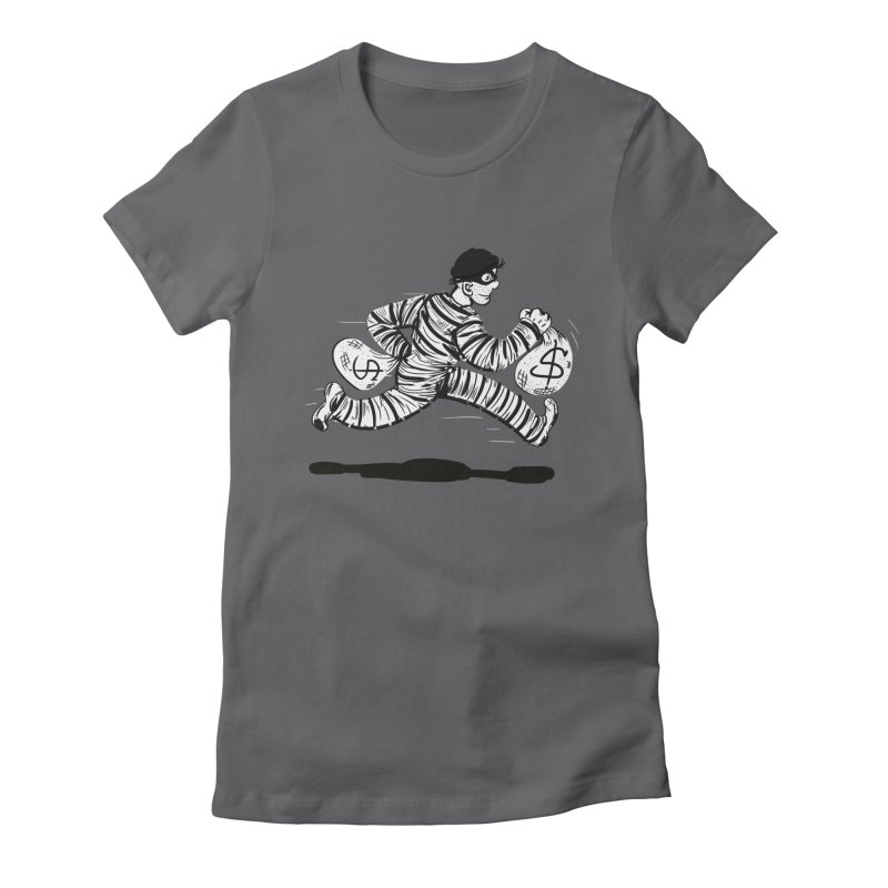 Take the $$$$$$$$$$$$$$ and run Women's Fitted T-Shirt by JP$ Artist Shop