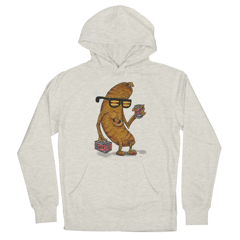 Beer Brat Men's Pullover Hoody by JP$ Artist Shop