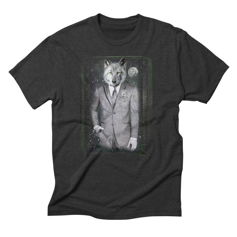 Mr. $ Men's Triblend T-Shirt by JP$ Artist Shop