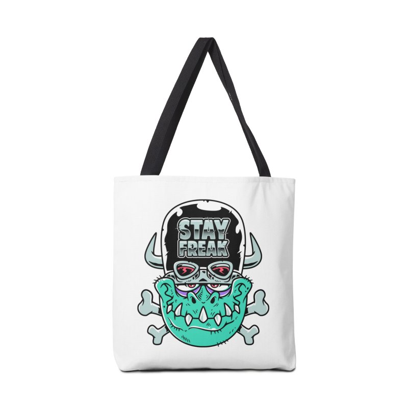 Stay Freak! Accessories Tote Bag Bag by Johnny Terror's Art Shop
