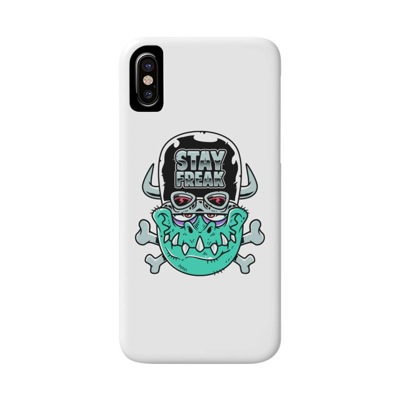 Stay Freak! Accessories Phone Case by Johnny Terror's Art Shop
