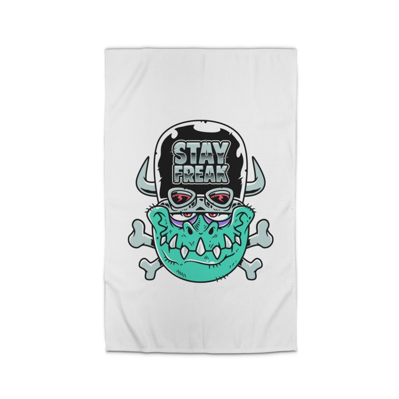 Stay Freak! Home Rug by Johnny Terror's Art Shop