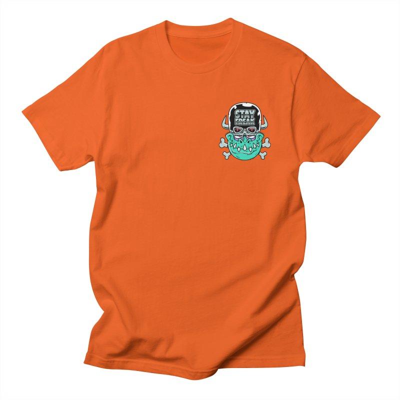 Stay Freak! Men's T-Shirt by Johnny Terror's Art Shop