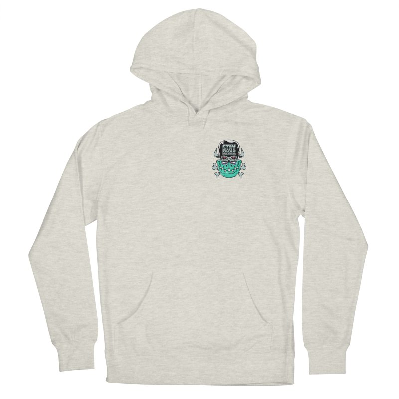 Stay Freak! Men's French Terry Pullover Hoody by Johnny Terror's Art Shop