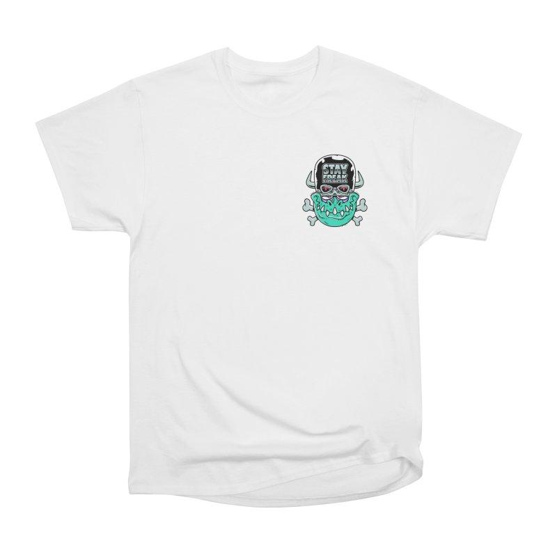 Stay Freak! Men's Heavyweight T-Shirt by Johnny Terror's Art Shop