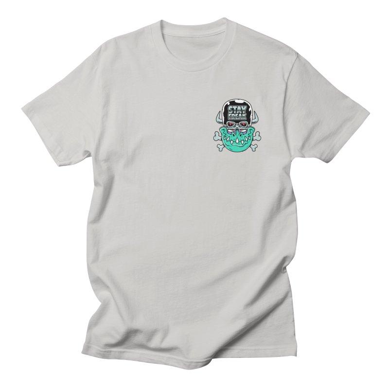 Stay Freak! Men's Regular T-Shirt by Johnny Terror's Art Shop