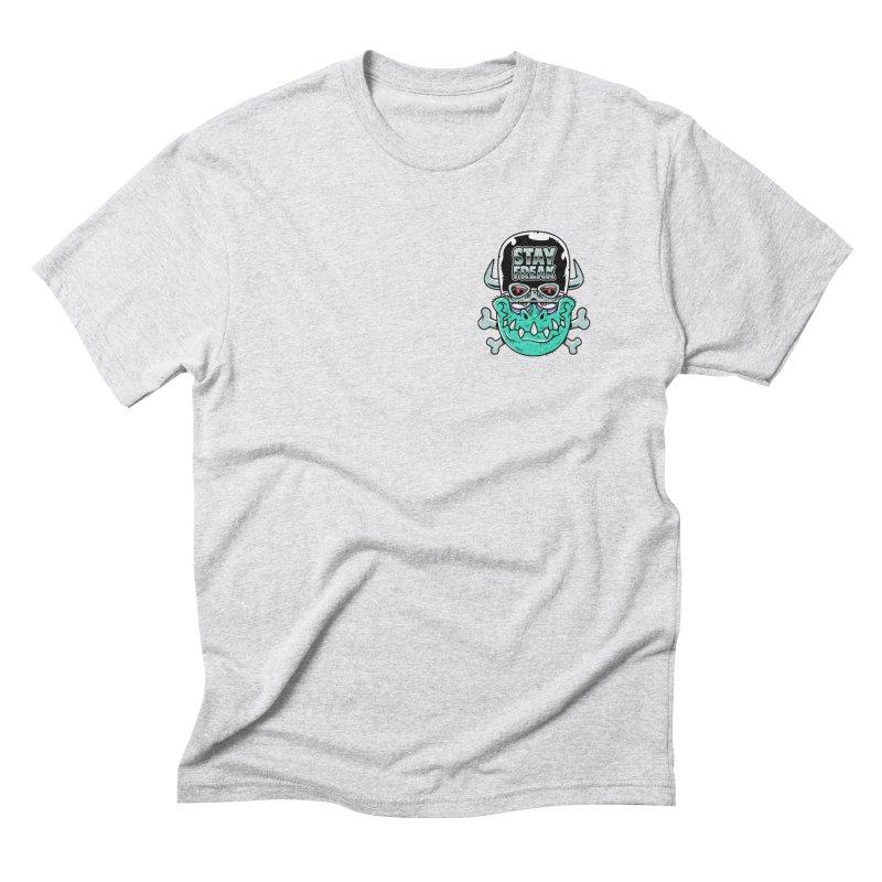 Stay Freak! Men's Triblend T-Shirt by Johnny Terror's Art Shop