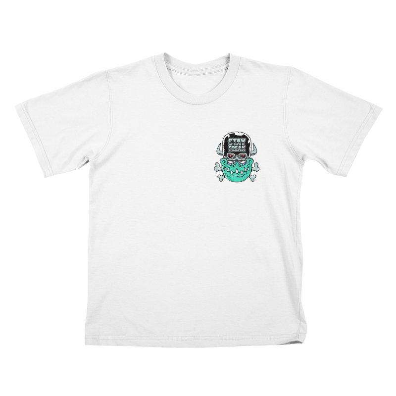 Stay Freak! Kids T-Shirt by Johnny Terror's Art Shop