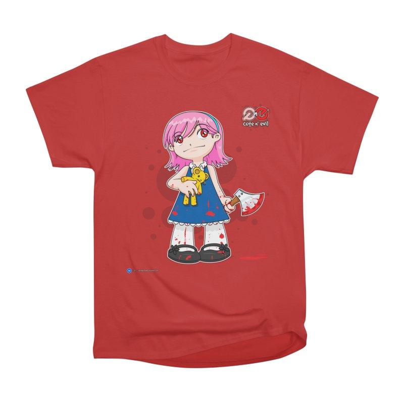 ax - cute n' evil Men's Classic T-Shirt by Artist Shop.jpg