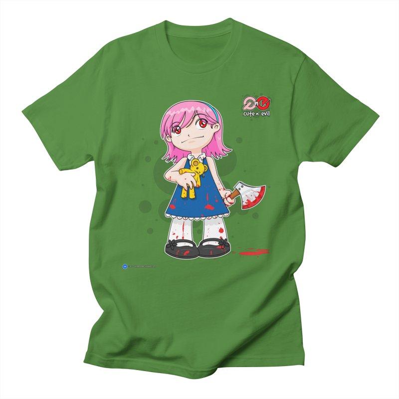 ax - cute n' evil Women's Unisex T-Shirt by Artist Shop.jpg