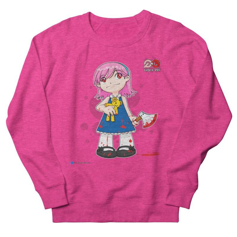 ax - cute n' evil Men's Sweatshirt by Artist Shop.jpg