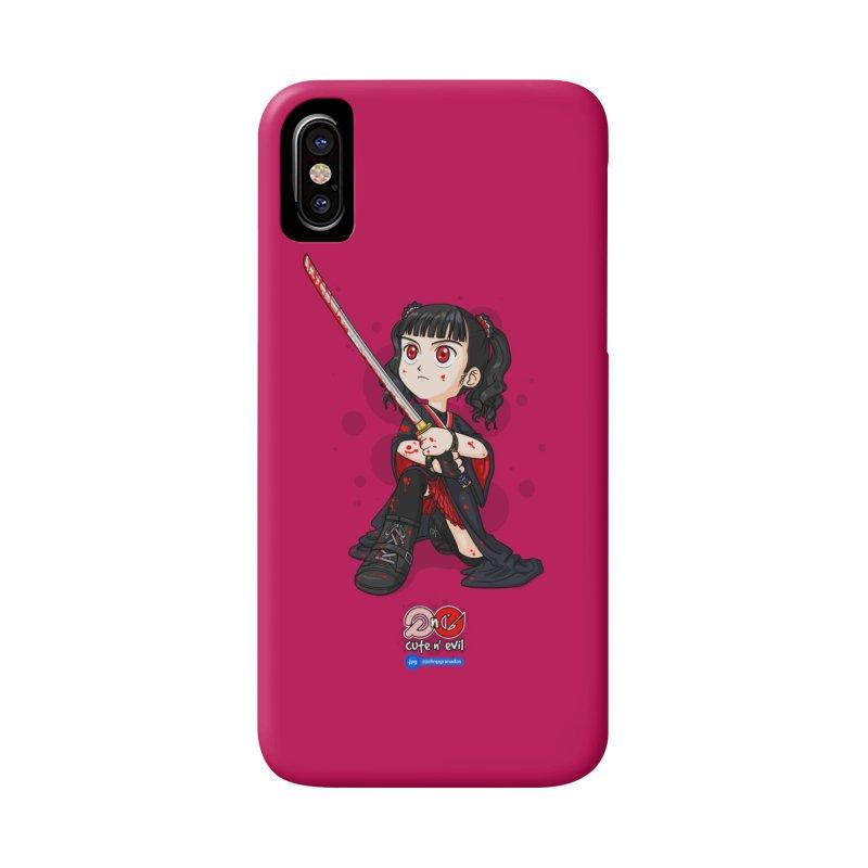 katana - cute n' evil Accessories Phone Case by Juan Pablo Granados - .jpg