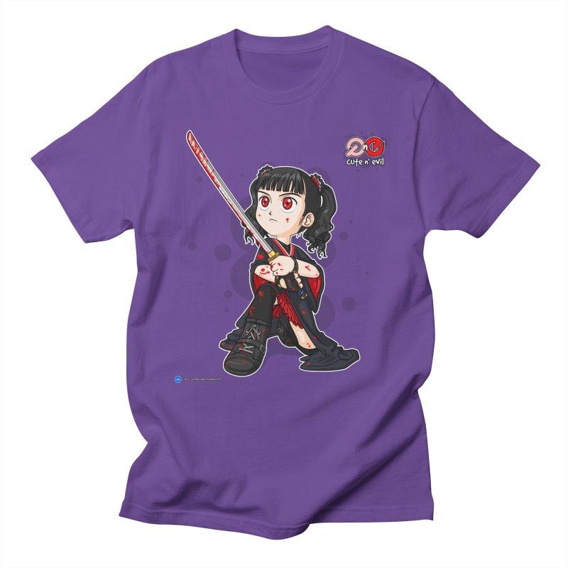 katana - cute n' evil Men's T-Shirt by Artist Shop.jpg