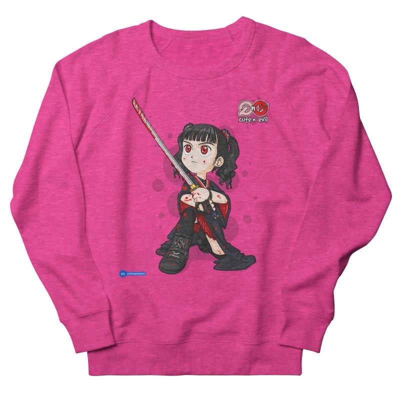 katana - cute n' evil Women's Sweatshirt by Juan Pablo Granados - .jpg