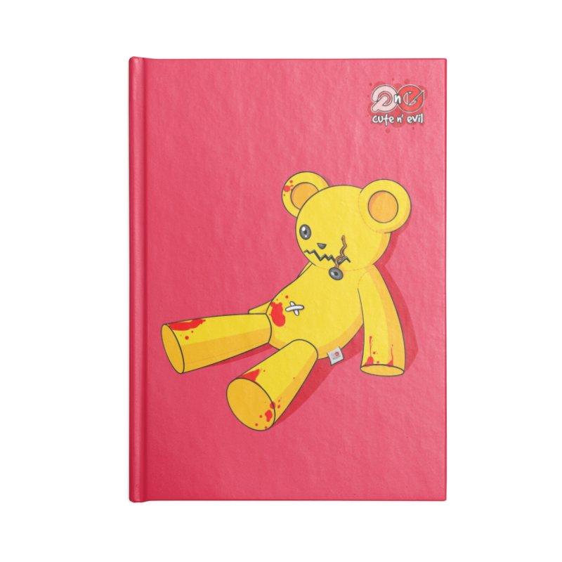 teddy - cute n' evil Accessories Notebook by Artist Shop.jpg