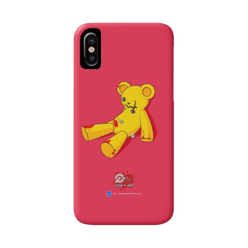 teddy - cute n' evil Accessories Phone Case by Artist Shop.jpg