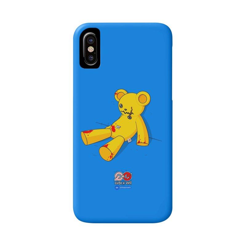 teddy - cute n' evil Accessories Phone Case by Juan Pablo Granados - .jpg