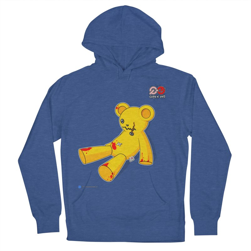 teddy - cute n' evil Women's Pullover Hoody by Artist Shop.jpg