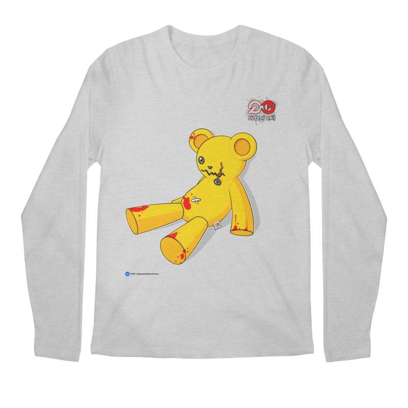 teddy - cute n' evil Men's Longsleeve T-Shirt by Artist Shop.jpg