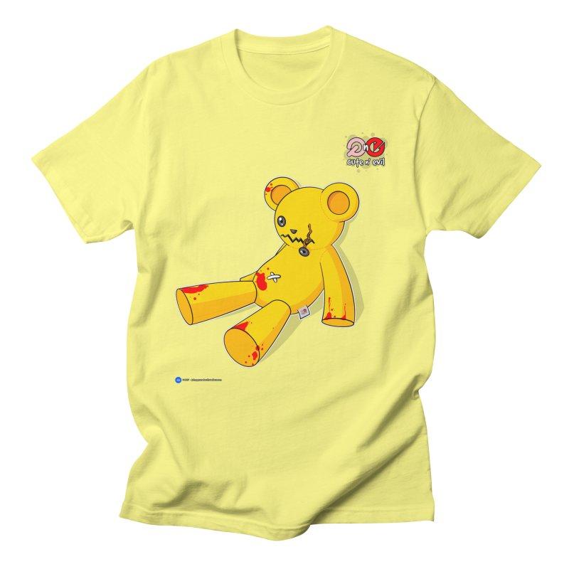 teddy - cute n' evil Women's Unisex T-Shirt by Artist Shop.jpg