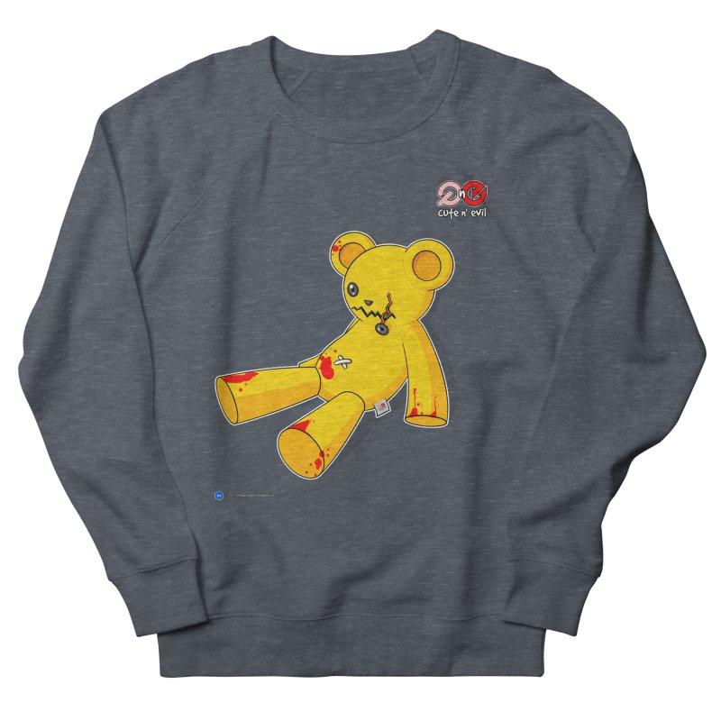 teddy - cute n' evil Men's Sweatshirt by Artist Shop.jpg