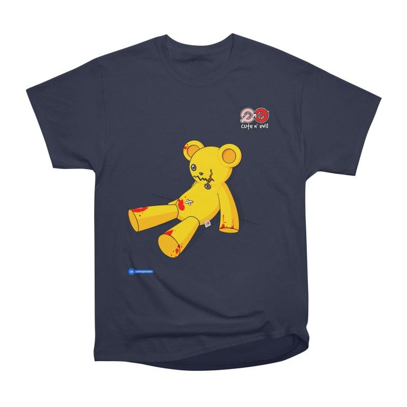 teddy - cute n' evil Women's Heavyweight Unisex T-Shirt by Juan Pablo Granados - .jpg