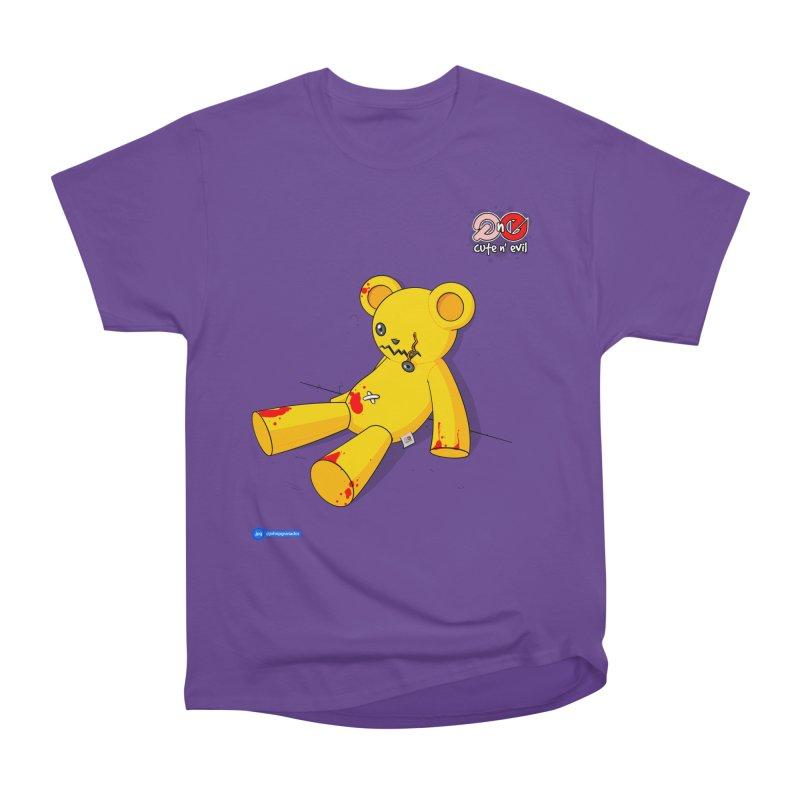 teddy - cute n' evil Women's Classic Unisex T-Shirt by Juan Pablo Granados - .jpg