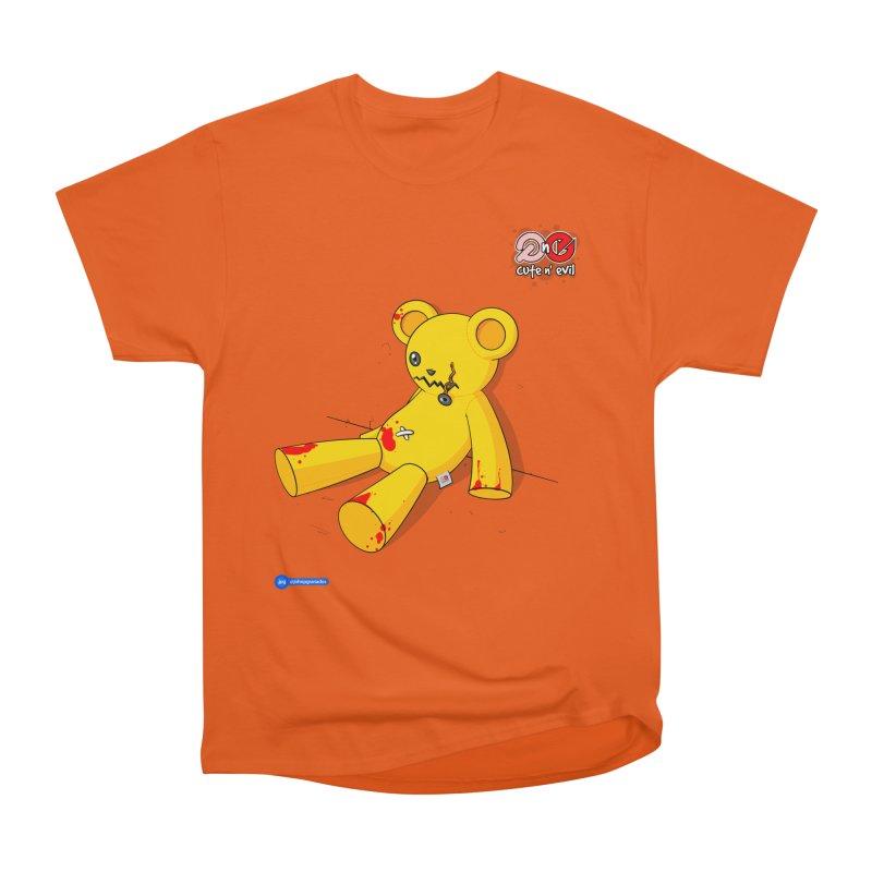 teddy - cute n' evil Men's Classic T-Shirt by Juan Pablo Granados - .jpg