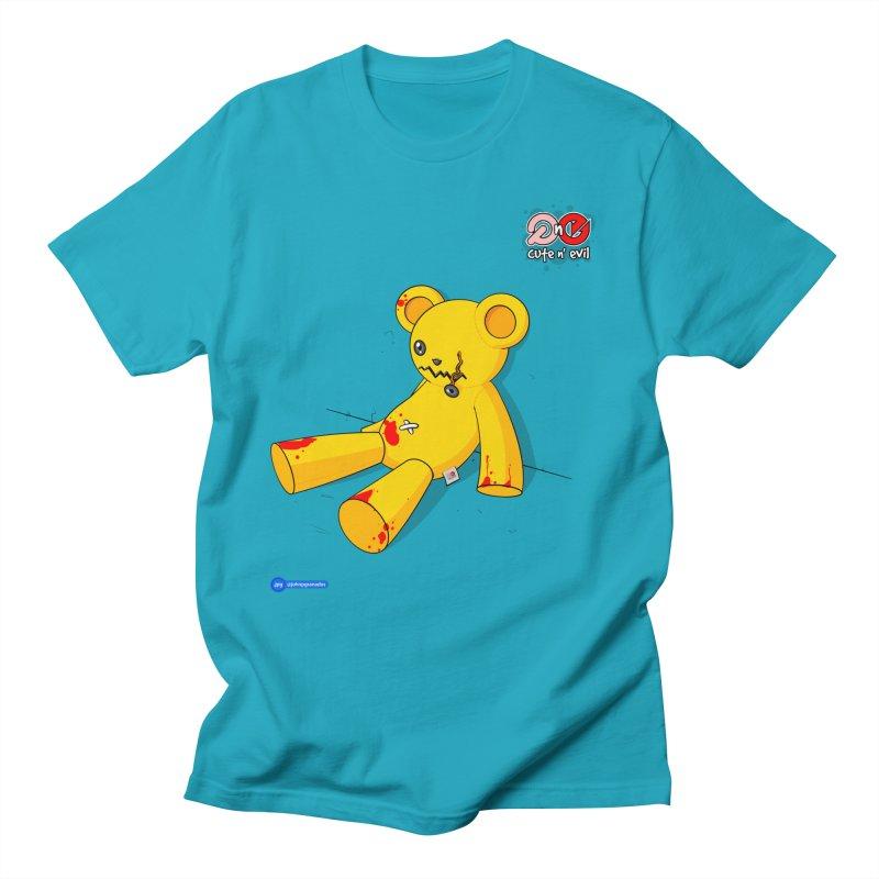 teddy - cute n' evil Women's Unisex T-Shirt by Juan Pablo Granados - .jpg