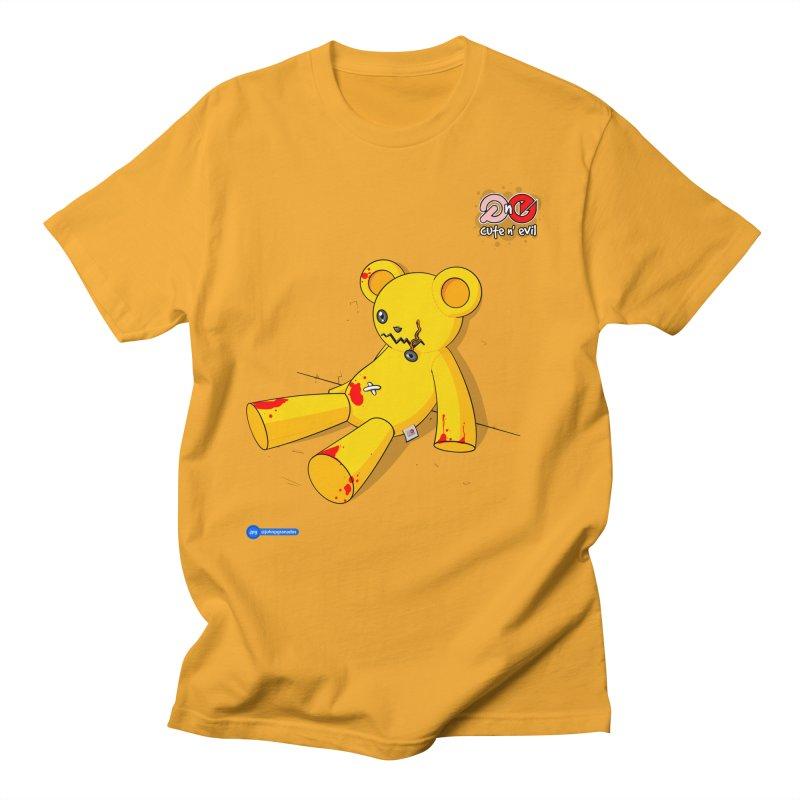 teddy - cute n' evil Women's Regular Unisex T-Shirt by Juan Pablo Granados - .jpg