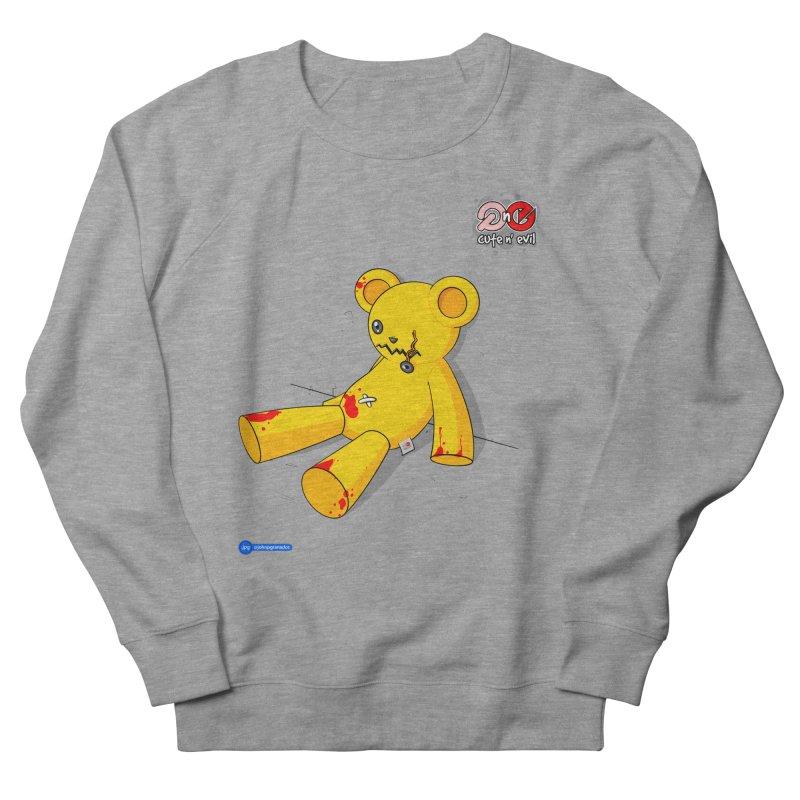 teddy - cute n' evil Women's Sweatshirt by Juan Pablo Granados - .jpg