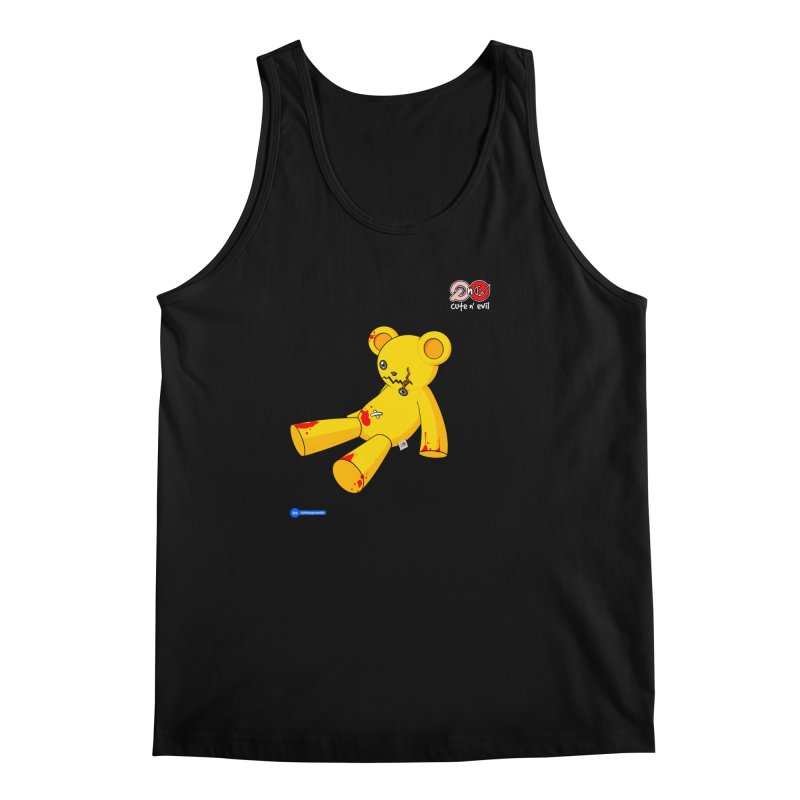teddy - cute n' evil Men's Regular Tank by Juan Pablo Granados - .jpg