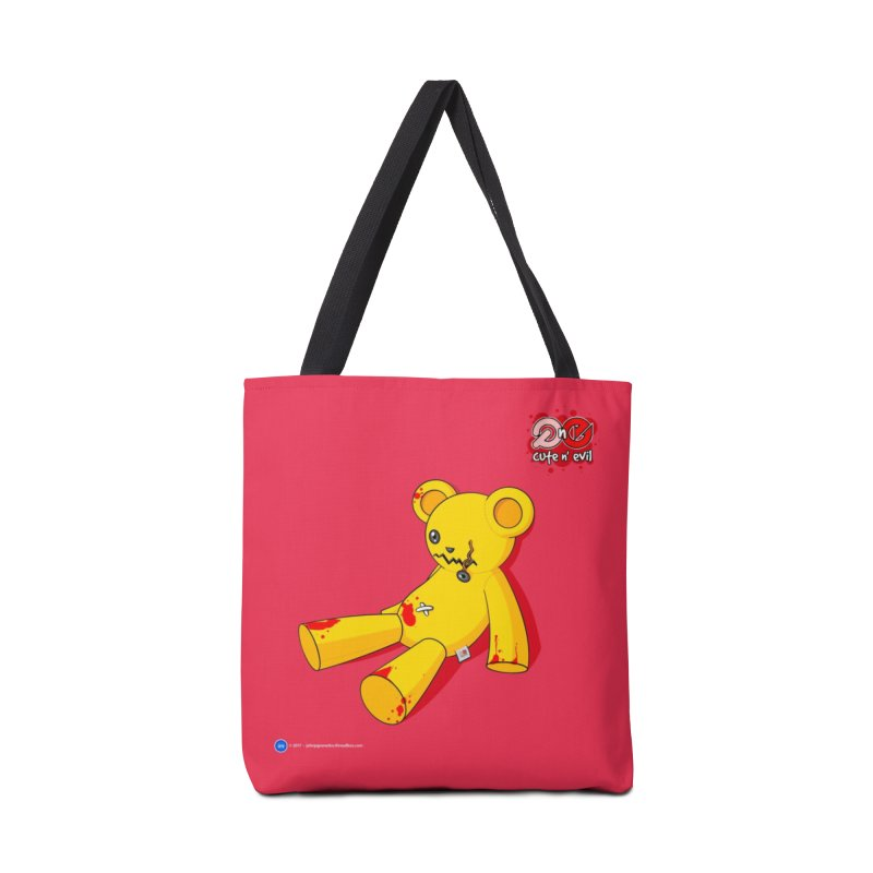 teddy - cute n' evil Accessories Bag by Artist Shop.jpg