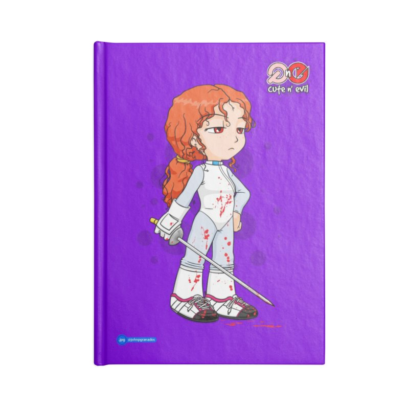 foil - cute n' evil Accessories Notebook by Juan Pablo Granados - .jpg
