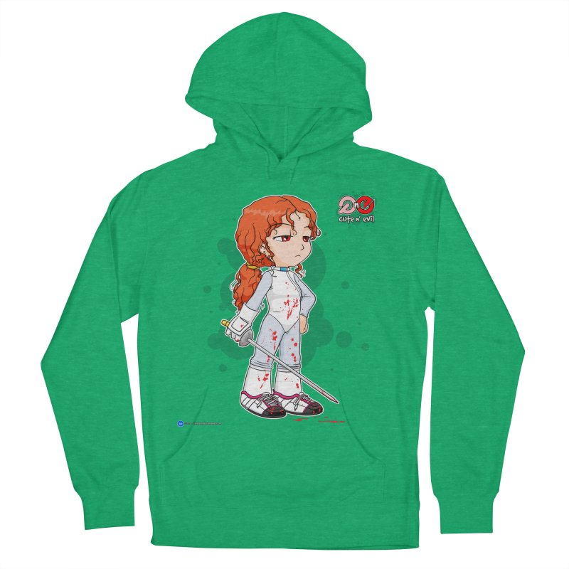 foil - cute n' evil Women's Pullover Hoody by Artist Shop.jpg