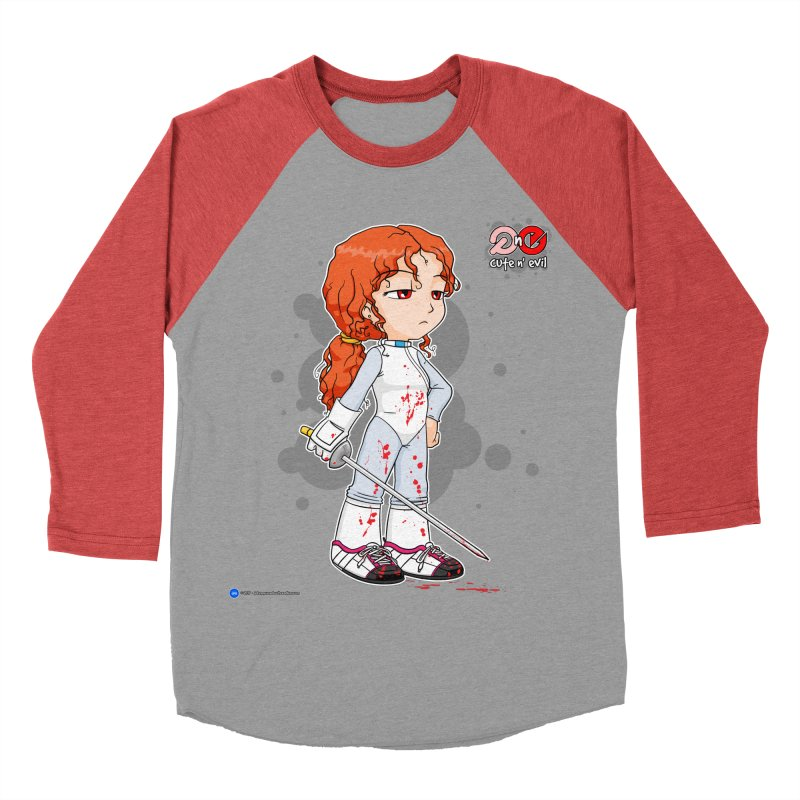 foil - cute n' evil Men's Baseball Triblend T-Shirt by Artist Shop.jpg
