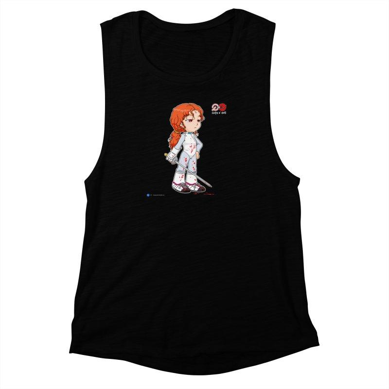 foil - cute n' evil Women's Muscle Tank by Artist Shop.jpg