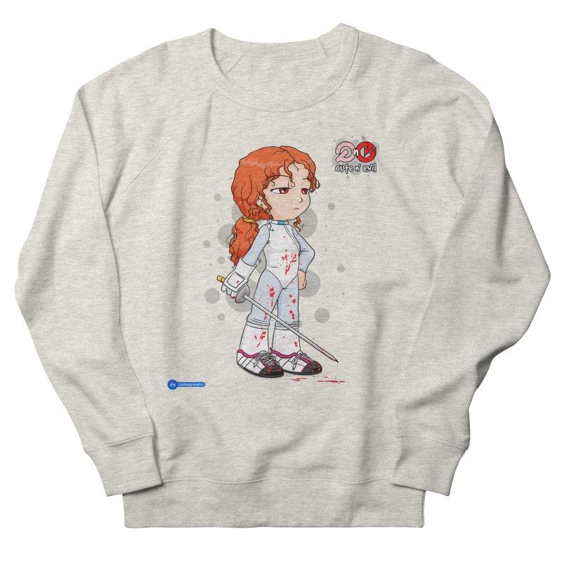 foil - cute n' evil Women's French Terry Sweatshirt by Juan Pablo Granados - .jpg