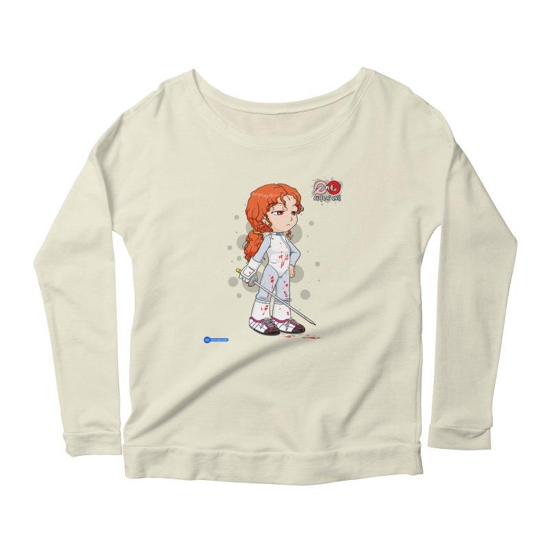 foil - cute n' evil Women's Scoop Neck Longsleeve T-Shirt by Juan Pablo Granados - .jpg