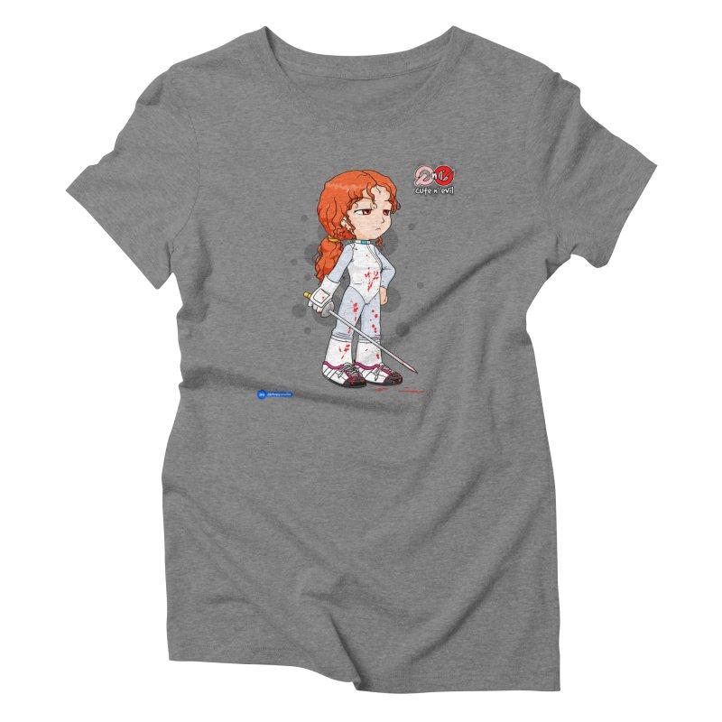 foil - cute n' evil Women's Triblend T-Shirt by Juan Pablo Granados - .jpg