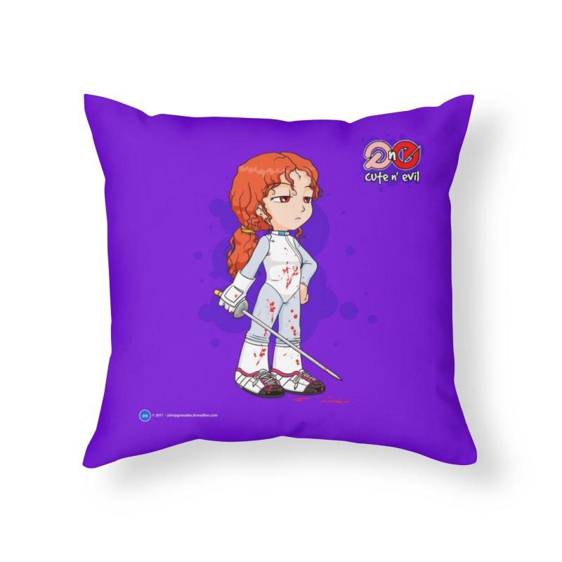 foil - cute n' evil Home Throw Pillow by Artist Shop.jpg