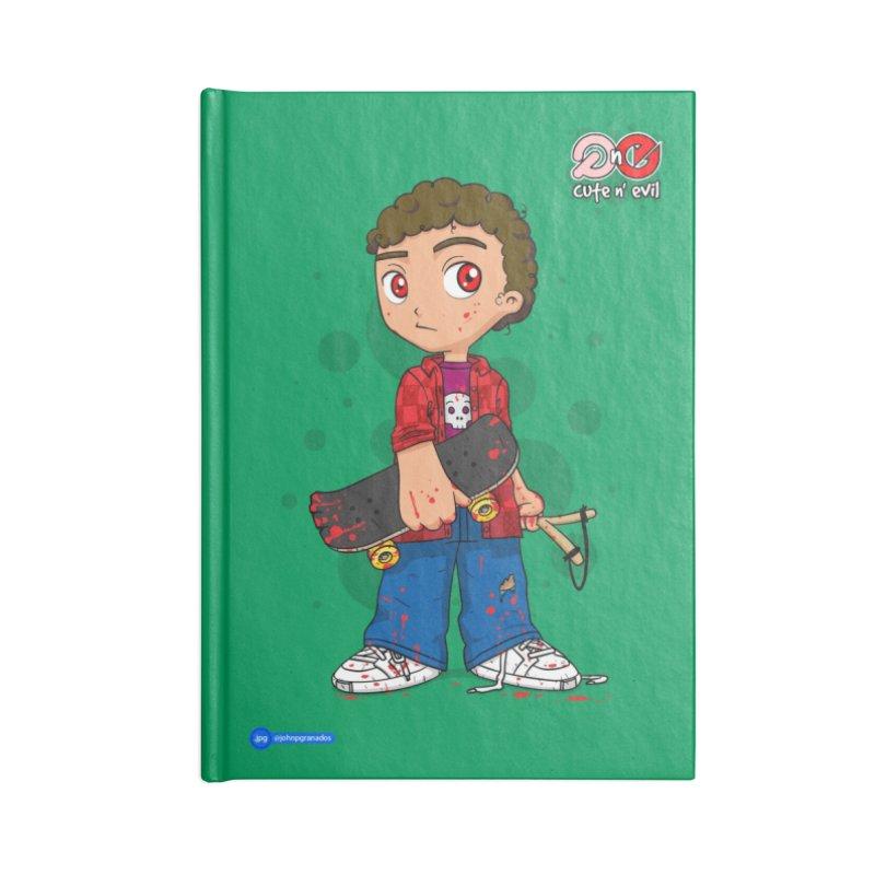 skateboard - cute n' evil Accessories Notebook by Juan Pablo Granados - .jpg