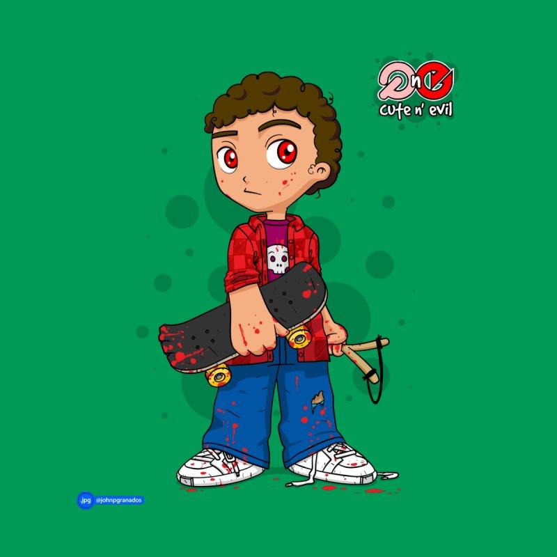 skateboard - cute n' evil   by Juan Pablo Granados - .jpg