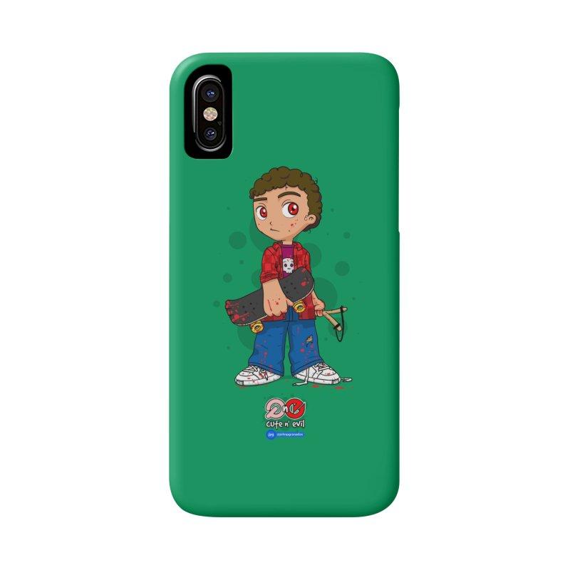 skateboard - cute n' evil Accessories Phone Case by Juan Pablo Granados - .jpg